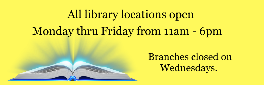 All library locations open